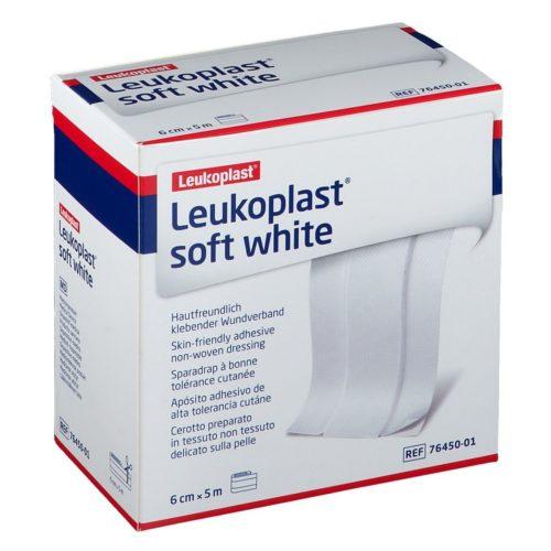 Pansement Leukoplast soft white
